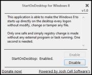 StartOnDesktop 1.0