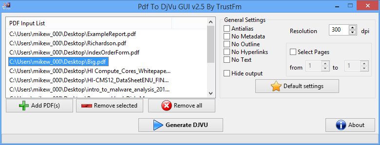 convert djvu file to pdf free download