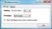 WinMaximumize 1.1