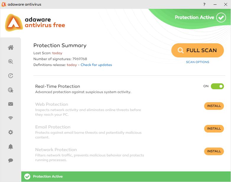 adaware Free Antivirus 12 6 1005 free download - Software