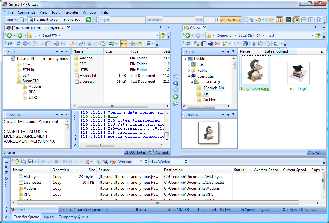 SmartFTP 9 0 2699 (64-bit) free download - Software reviews