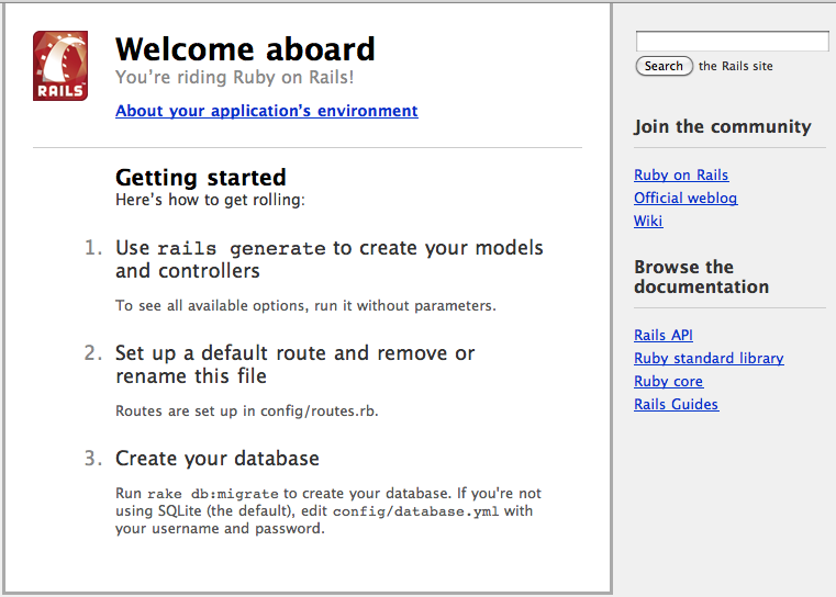 تحميل برنامج Ruby on Rails 2.0.0 لبناء وإنشاء التطبيقات بلغة روبى